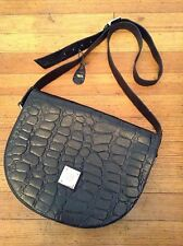 BOOT N BAGS Large Black Leather Shopper Tote Carryall Work Purse Satchel Bag