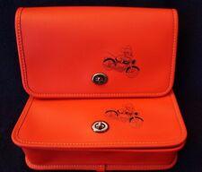 COACH DISNEY Mickey Penny Crossbody Bag F59374 with Bonus Disney Bath Amenities