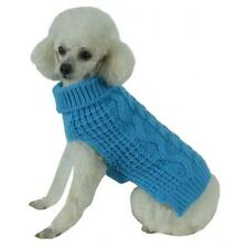 Pet Life SW11BLLG Swivel-Swirl Heavy Cable Knitted Fashion Designer Dog Sweat...
