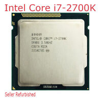 Intel Core i7-2700K CPU 3.5 GHz LGA 1155 32 nm 4Cores Quad-Core Processor Used
