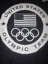 UNITED STATES OLYMPIC TEAM T Shirt By NIKE DRI-FIT XL /TG 2012 LONDON Blue