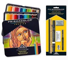 Prismacolor Premier Colored Pencils Soft Core 48 Count with 7 Piece Bonus