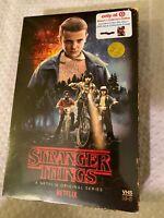 Nuovo Stranger Things Stagione 1 blu ray DVD Obiettivo Esclusivo VHS Confezione+