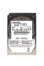 "Toshiba MK1252GSX HDD2H04 120Gb 2.5"" Laptop SATA Hard Drive"