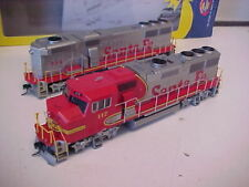HO,Athearn,ATSF GP-60M A&B units,mint, DCC quick plug,loco,from estate(JC)