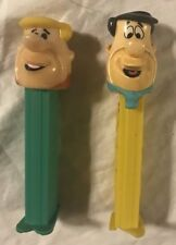 Lot Of 2 Flinstone Pez Dispensors