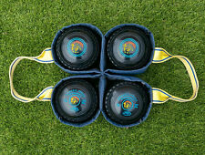 Set of Drakes Professional Lawn Bowls, size 00