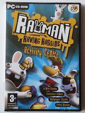 Rayman Raving Rabbids centro de actividades PC CD-ROM juego nuevo y sellado Reino Unido!