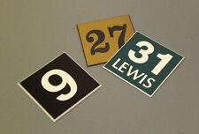 Engraved Door Numbers  -  Custom Made  -  75mm x 75mm