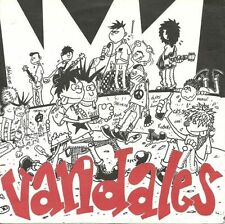 "LES VANDALES ""S/T"" 7"" RARE 45rpm USED! FRANCE STREETPUNK-SKA-COMBAT ROCK"
