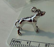 Sterling Silver 3D 16x18mm Rhodesian Ridgeback Dog Charm