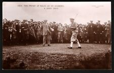 Golf. H.R.H. The Prince of Wales at St Andrews. A Good Drive.