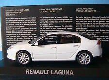 RENAULT LAGUNA 2007 BLANC GLACIER NOREV 517740 1/43 new LH DRIVE ICE WHITE WEISS