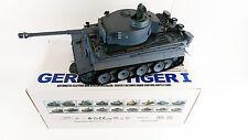 Militare 1:16 Heng Long Tedesco Carro Armato Tiger Fumo Suono Radiocomando