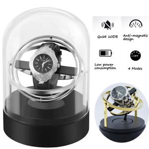 Automatic Watch Winder Shaker Quiet Motor 4 Rotation Mode Quiet Motor Watch Box