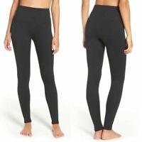 Bagatelle Women's High Rise Leggings Tummy Control Black Size Large NWOT