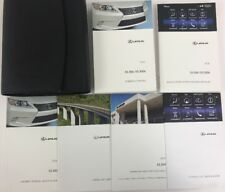 OEM 2015 LEXUS ES 350 ES300h OWNERS MANUAL USER GUIDE V6 3.5L AWD LUXURY SEDAN
