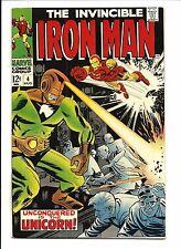 IRON MAN #4 (Licorne apparence, Aug 1968), VF/NM