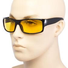 Lo Sport Wrap HD Visione Notturna Guida Occhiali Da Sole Neri Occhiali ad alta definizione