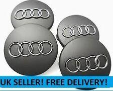 4 x Audi Centre Caps Grey