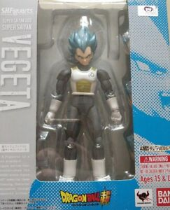 S.H. Figuarts Dragon Ball Z Super Saiyan God Super Saiyan Blue Vegeta SSGSS