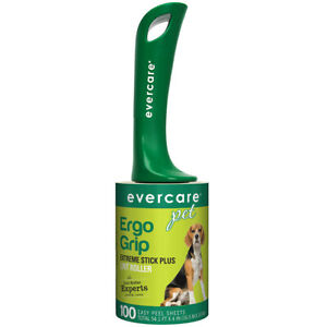 EverCare 100 Sheets Extreme Sticky Lint Roller Pet Hair Remover Dog Cat Groom