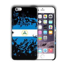 Nicaragua National Symbol Flag iPhone 4 4S 5 5S 5c 6 6S 7 + Plus Case Cover 4