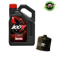 4L Motul 300V 10w40 + K&N Oil Filter - Honda CB600 Hornet 1999-2002
