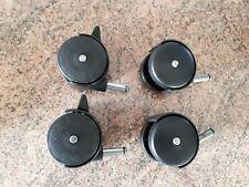 50cm Black Castors x4