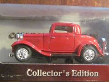 Diecast Metal Collection Ford 3 Window Coupe 1932 model 1:43