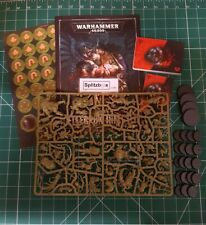 Kill Team Rogue Trader Gellerpox Infected. Nurgle.With Codex, cards and Counters