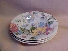 """3 Oscar De La Renta Rimmed Soup Pasta Salad Bowls~English Tapestry~8 3/4"""" dia"""