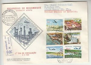 Mozambique Registered First Day Cover