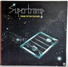 """12"""" Vinyle SUPERTRAMP-Crime of the Century (1974-Canada)"""