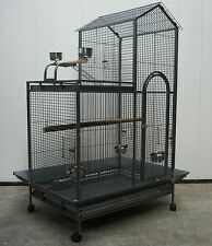 Brand New Large Bird Cage Parrot Aviary Open Roof 161cm * ED11
