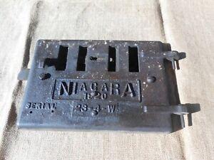 Antique Niagara Cast Iron Furnace / Wood Stove Door