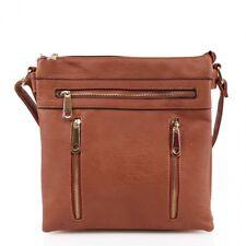 LeahWard Women's Faux Leather Cross Body Bags Fashion Cross-Body Shoulder Bag