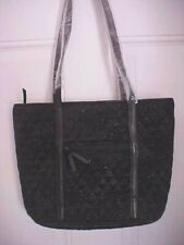 Vera Bradley Small Trimmed Bag Tropics Tapestry Black  26029-P72  NWT Quilted