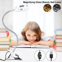 Lampe lecture à LED flexible Clip une table lampe bureau lampe protection PS