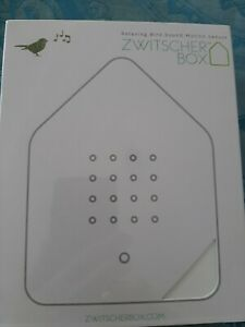 Zwitscherbox weiß, neu, originalverpackt