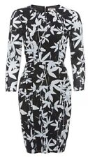 Stunning Bnwt Whistles Silk Mix Botanical Dress Size 16