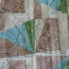 retro vintage fabric artist Picasso 1950s Lucienne Day Fuller fabrics