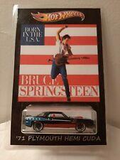 "CUSTOM AMERICAN CLASSIC BRUCE SPRINGSTEEN ""BORN IN THE USA"" HOTWHEELS!!!!"