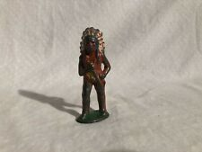 Barclay Manoil Lead Toy North American Indian Figure Native American