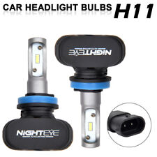 Nighteye S1 H11 8000LM 6500K LED Headlight Driving Fog Light Replacement Bulb