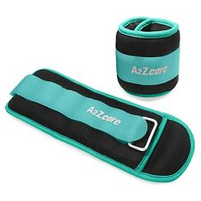 A2ZCare Ankle Weights Pair Fitness Strength Exercise Endurance Training