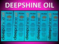 2 PACK RUSK DEEPSHINE PROTECTIVE ARGAN OIL TREATMENT ELIMINATE FRIZZ SMOOTH HAIR