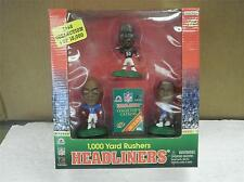HEADLINERS- 1,000 YARD RUSHERS- GEORGE/DAVIS/SANDERS-1998 COLLECTION- NEW- L156