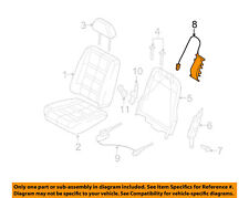 FORD OEM Front Seat-Seat Support Right 6F9Z7465500A