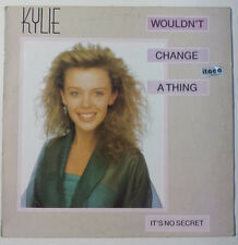 """KYLIE MINOGUE """"WOULDN'T CHANGE A THING"""" ULTRA RARE SPANISH 12"""" VINYL"""